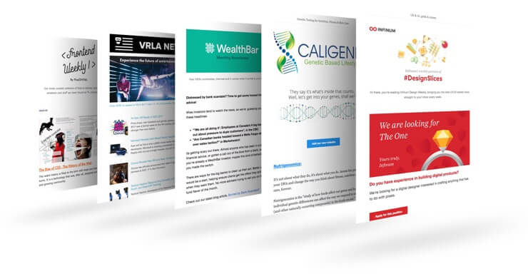 Newsletters small